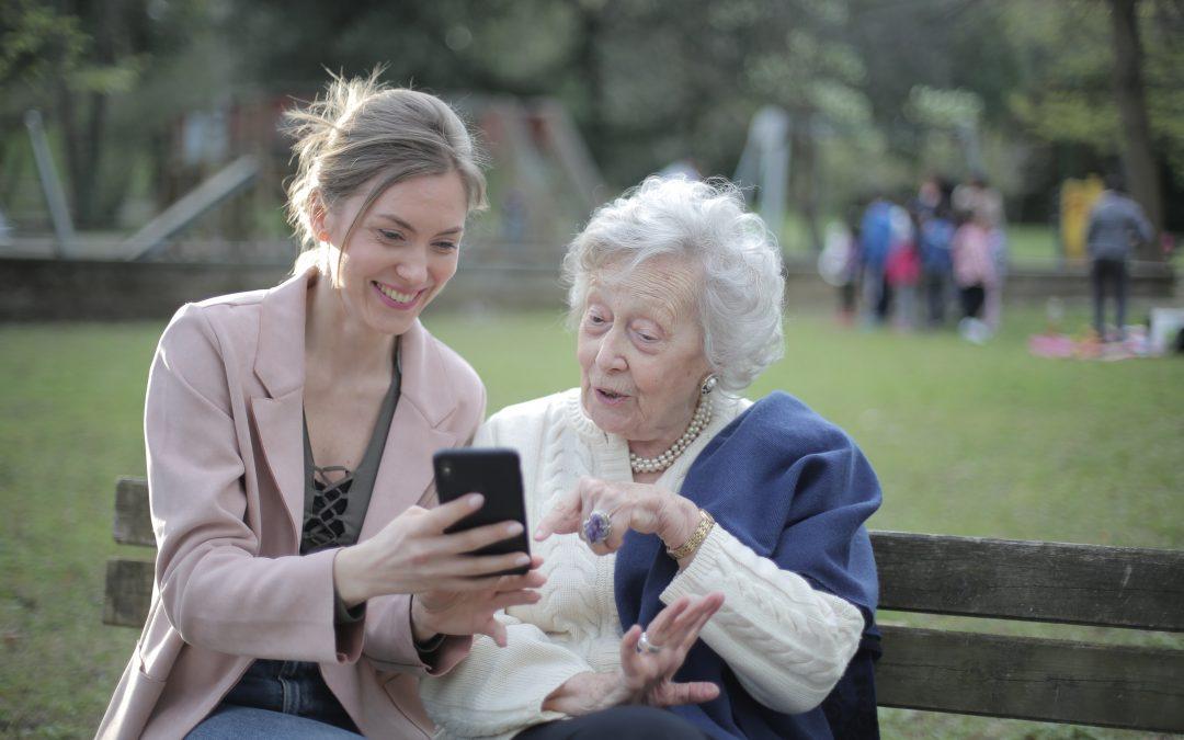 Las nuevas tecnologías para personas mayores